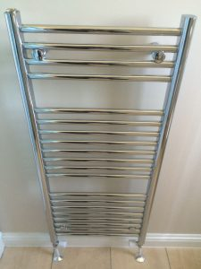 Ladder rail radiator